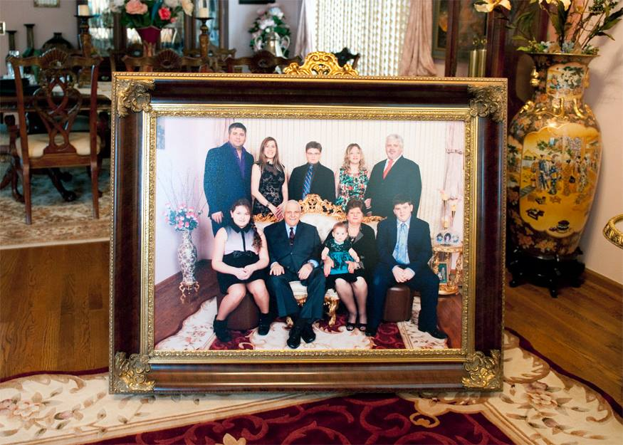 30x40 Framed Family Portrait