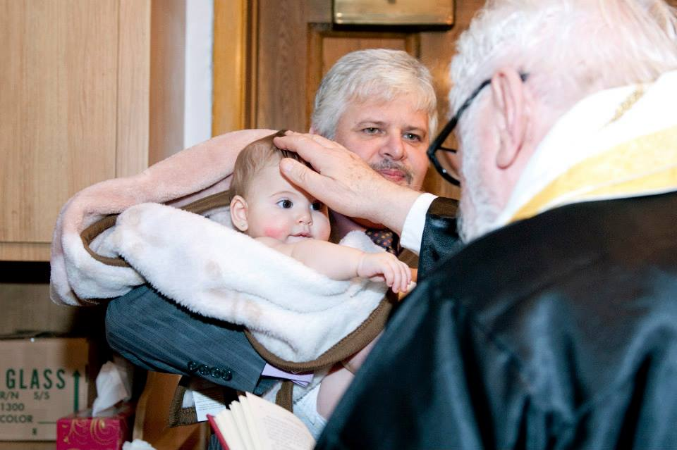 Natalia's Baptism at St. Nicholas Albanian Orthodox Church, Chicago, IL